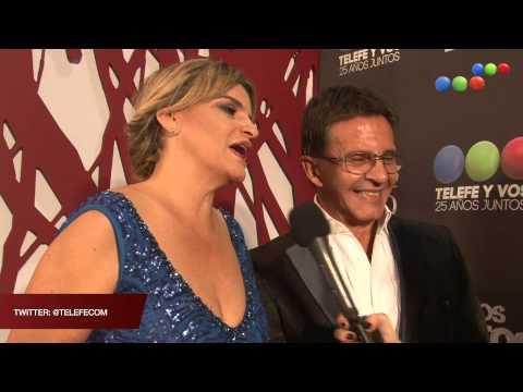 Afombra Roja, Osvaldo Laport y Viviana Sáez - Todos Juntos 2015