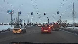 Хамство водителя внедорожника, Омск