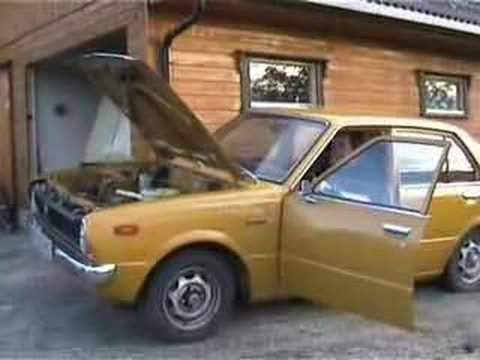 Toyota Corolla For Sale >> 1976 Toyota Corolla KE30 Deluxe startup - YouTube