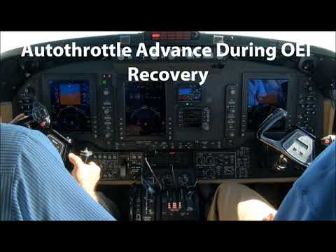 ThrustSense® Autothrottle Vmca Flight