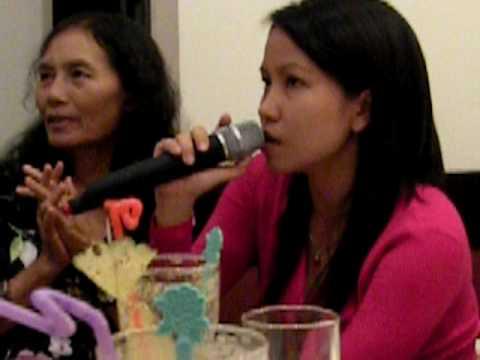 Karaoke zu meiner Geburtstagsfeier in Vietnam