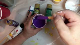 Acrylic Paint Pouring for the Beginner Part II (Drawing is Closed)