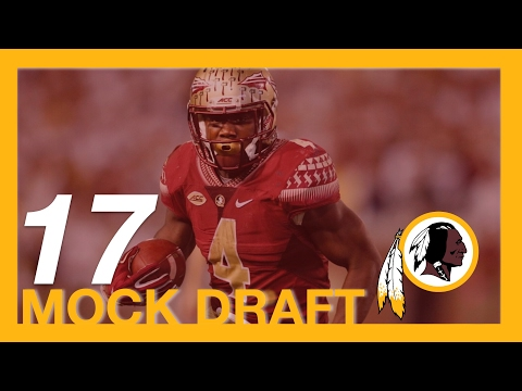 2017 NFL Mock Draft - Washington Redskins 17th Pick - RB Dalvin Cook From Florida State University.