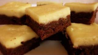 Cream Cheese Chocolate Brownies Recipe - 4th Of July Special - Cookingwithalia - Episode 106