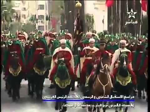 Maroc : Visite de François Hollande - المغرب: زيارة فرانسوا هولاند