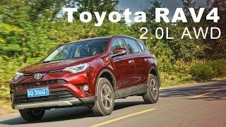 陸規最多9氣囊!Toyota RAV4 2.0L AWD | 大陸試駕