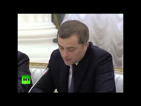 Последнее выступление Суркова