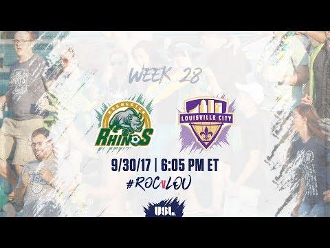 USL LIVE - Rochester Rhinos vs Louisville City FC 9/30/17