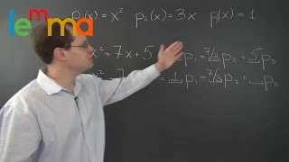 Linear Algebra 3c1: Decomposition with Polynomials 1