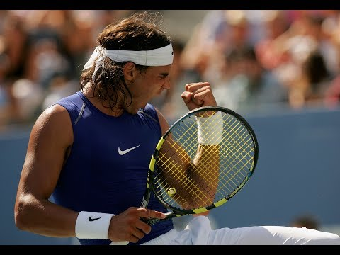 Sleeveless Rafael Nadal Through The Years At US Open Tennis
