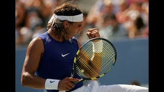 Sleeveless Rafael Nadal Through The Years At US Open Tennis