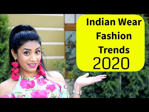 Indian Fashion Trends 2020 | Latest Saree / Lehnga Designs | Indian Ethnic Wear | Aanchal