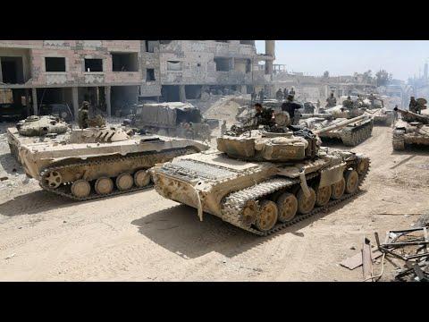 النظام السوري يستعيد السيطرة على كامل الغوطة الشرقية