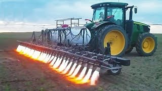 I have never seen such a soil tillage. AMAZING AGRICULTURAL MACHINES