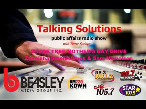 Talking Solutions with The Shade Tree Mother's Day Drive