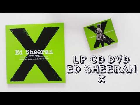 LP VINYL CD DVD ED SHEERAN X