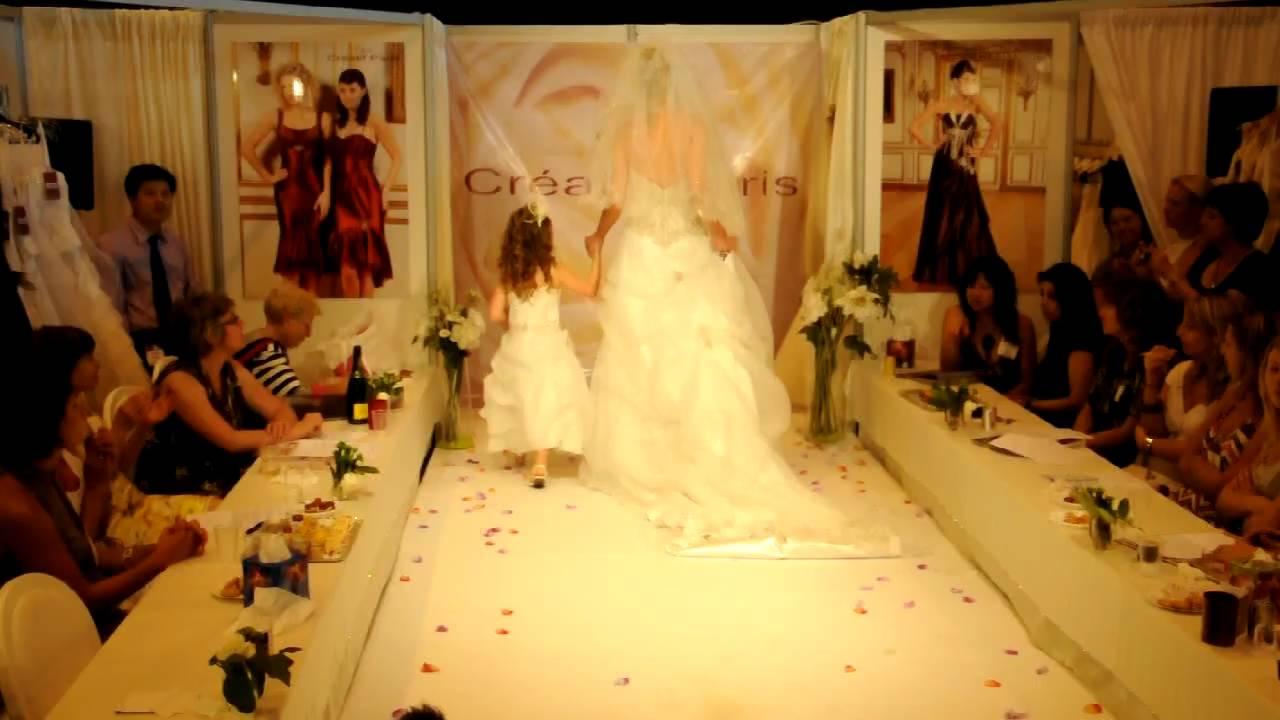 d fil au stand de cr atif paris salon du mariage paris porte de versailles 2009 youtube