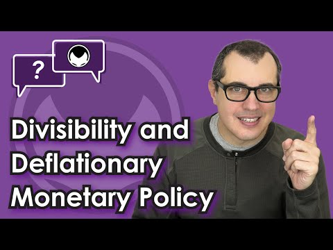 Bitcoin Q&A: Divisibility and deflationary monetary policy