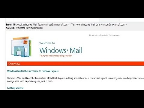 How To Enable Windows Mail On Windows 7 And Windows 8.1
