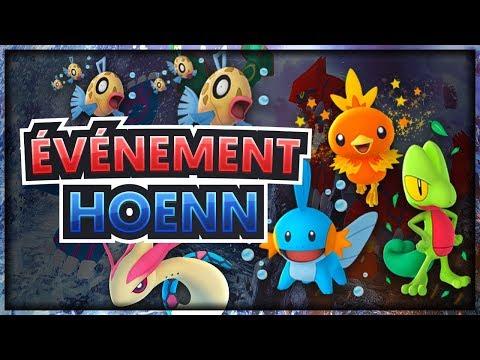 NEWS POKÉMON GO ÉVÉNEMENT HOENN (3G), ÉTUDES CIBLÉES BARPAU, SHINY ! thumbnail