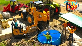 BRUDER TOYS Construction company New Pool