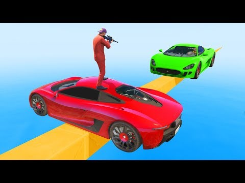 The ONLY Way To Win This Race! - GTA 5 Funny Moments