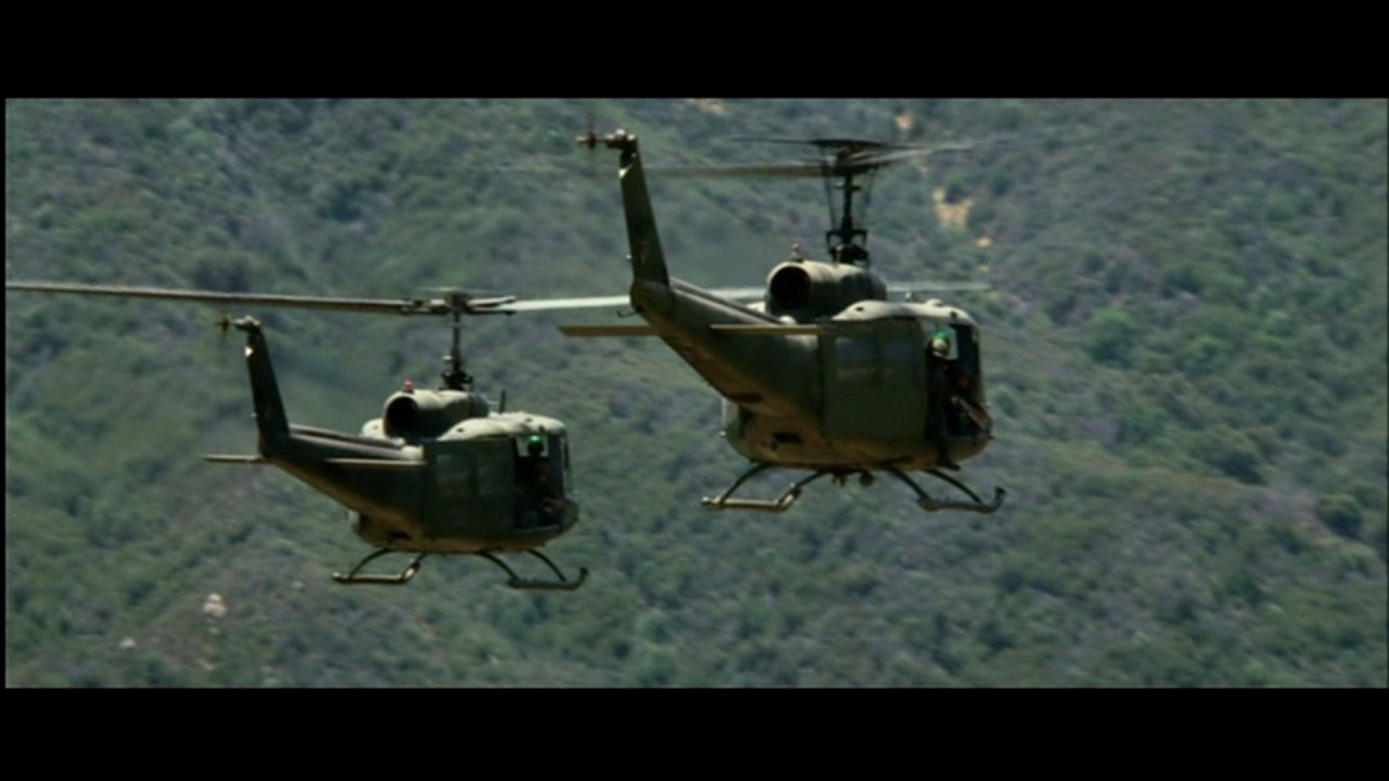 We were Soldiers X-Ray Scene Chopper gets shot down ...