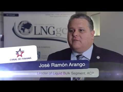 Interview with José Ramón Arango, Panama Canal Authority at LNGgc 2014