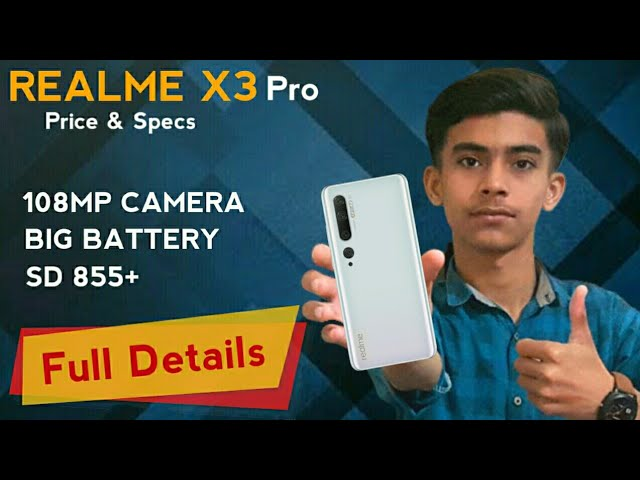 Realme X3 Pro Price In Pakistan Realme X3 Pro Specifications And