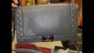 CHANEL Le Boy Reverso Flap Bag