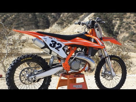 First Ride 2018 KTM 250SX 2 Stroke - Motocross Action Magazine