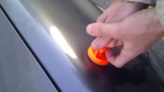 Réparer une bosse sur une voiture