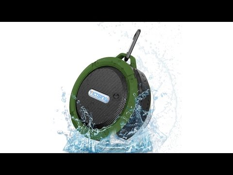 VicTsing Wireless Bluetooth Waterproof Outdoor & Shower Speaker