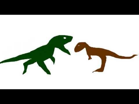 MDF-Abelisaurus vs Dubreuillosaurus