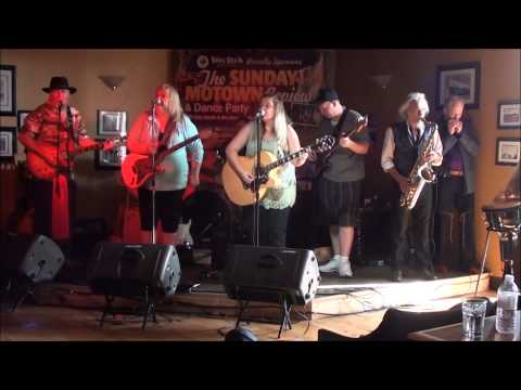 Barge Family at Hexters with the Heavenly Blues Band