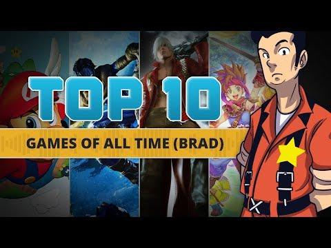 Brad Simons' Top 10 Games of All Time