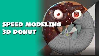 Tutorial modelado de Dona Malévola - 3ds max vídeo tutorial Evil Donut (PARTE 1)