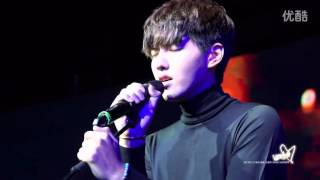 140911 Wu Yifan - All of Me (closeup full cover version at SOWK Presscon)