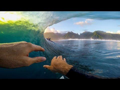 GoPro Oliver Kurtz – Teahupoo 072415 – Surf
