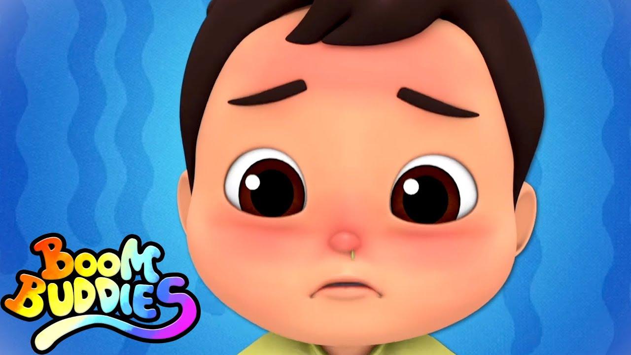 Lagu sakit | Puisi untuk anak | Kartun pendidikan | Boom Buddies Indonesia | Bayi sajak