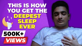 6 Steps to The BEST SLEEP Of Your Life | Sleep Meditation | BeerBiceps Night Time Routine