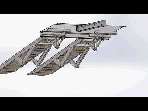Platforms for a trailer