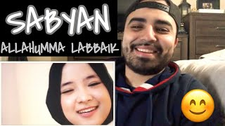 "Reacting to SABYAN "" ALLAUMMA LABBAIK "" MP3"