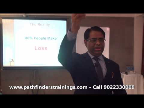 Free Stock Market Training by Yogeshwar Vashishtha (M.Tech, IIT)