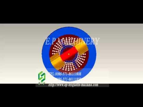 working video of HSKL pellet machine