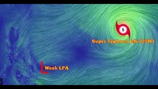 Weather Update- (September 1-3, 2018) Super Typhoon Jebi