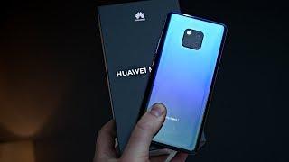 Huawei Mate 20 Pro Unboxing (Twilight)