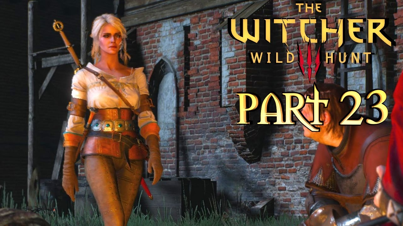 CIRI VS THE BARON - The Witcher 3: Wild Hunt Gameplay Walkthrough Part 23 - PC Ultra 60fps