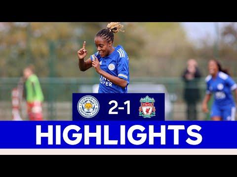 Big FA Women's Championship Win For The Foxes   LCFC Women 2 Liverpool 1   2020/21