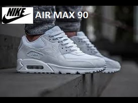 new arrival d7113 96076 Nike air max 90 white Trainers women   Mens QUICK 1 MIN REVIEW!